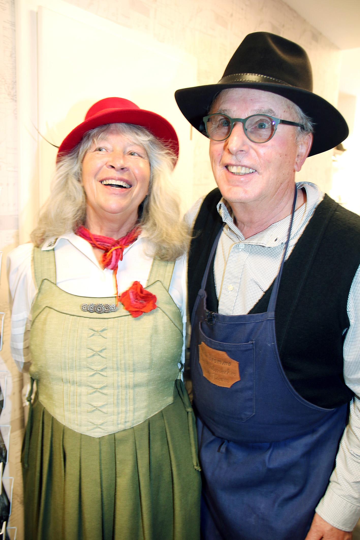 Die Märchenfraun Reingard Fuchs und Horst Brömme