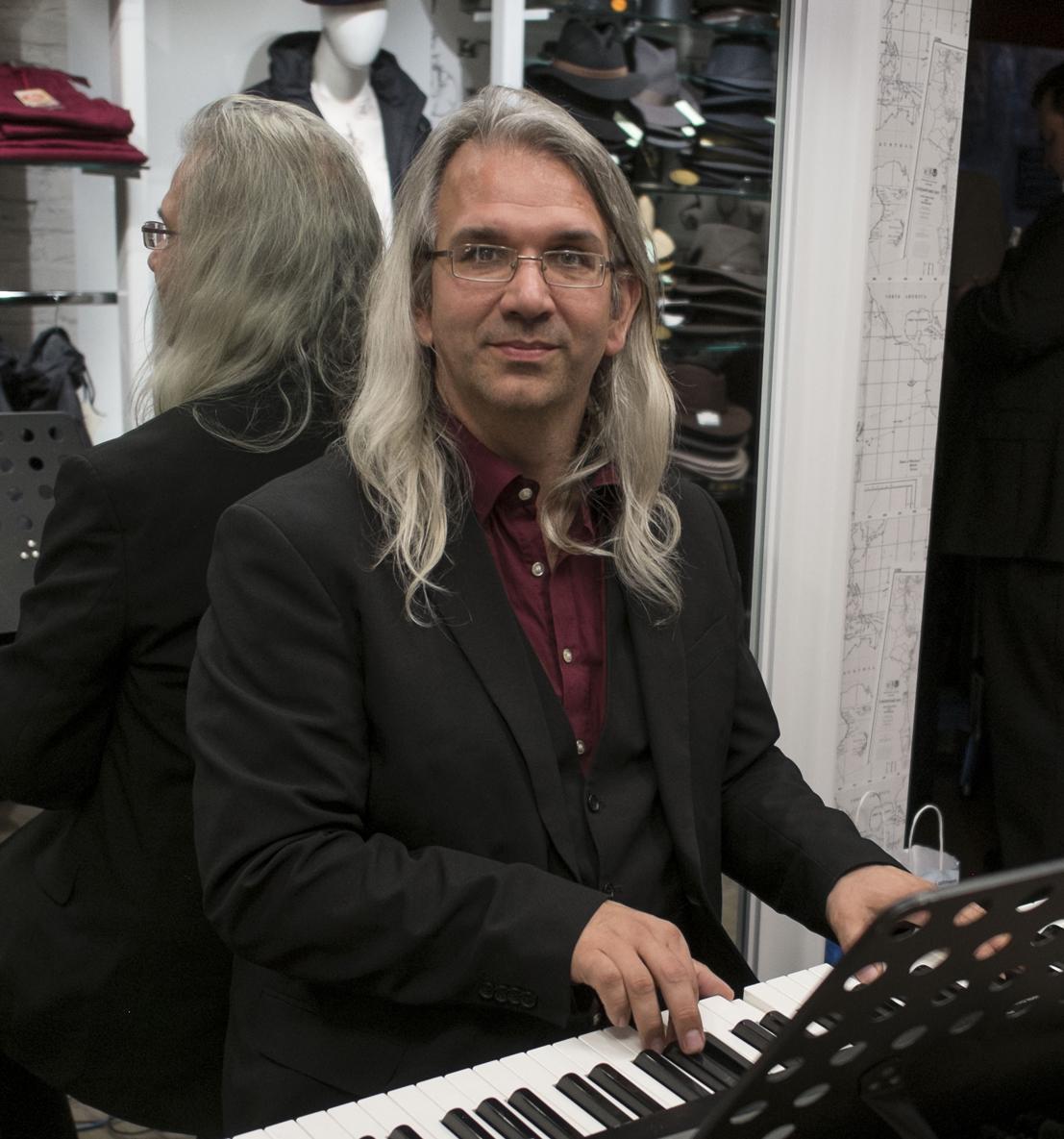 Andreas Rüsing, Komponist und Pianist